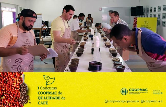 I Concurso COOPMAC de Qualidade de Café destaca produtores da região