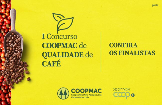 Conheça os finalistas do I Concurso COOPMAC de Qualidade de Café
